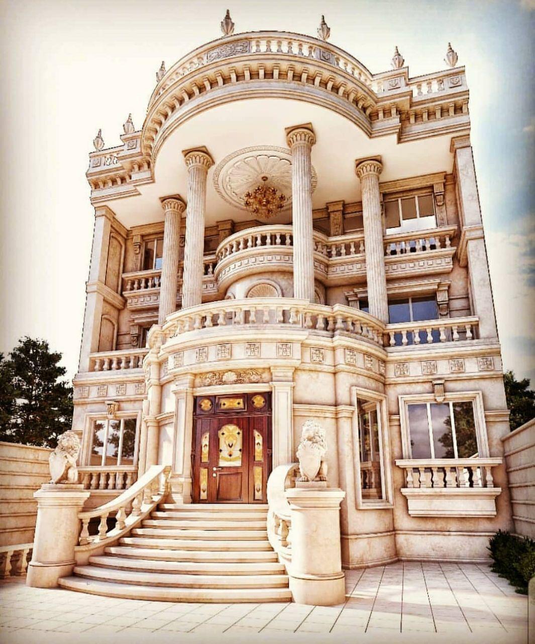 کاربرد سنگ در معماری کلاسیک