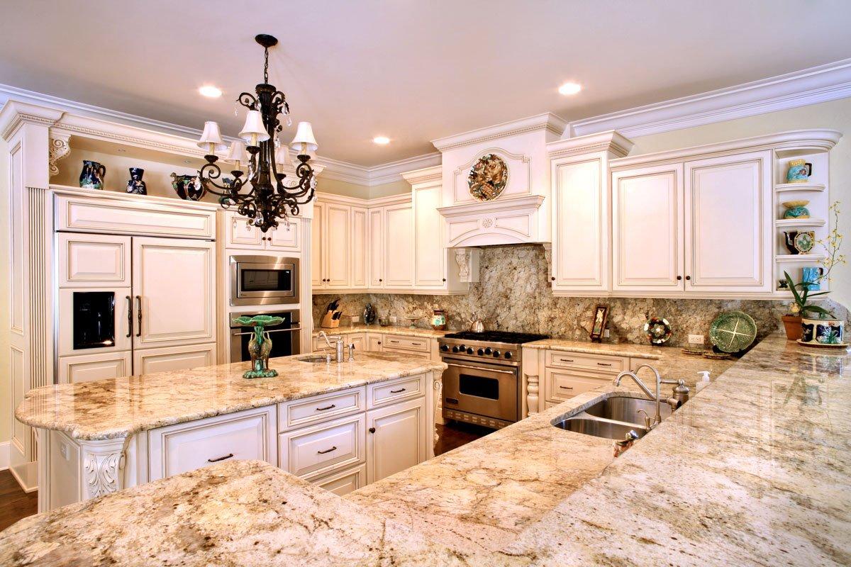 کاربرد سنگ در معماری فضای آشپزخانه