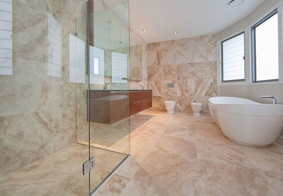 کاربرد سنگ طبیعی در حمام