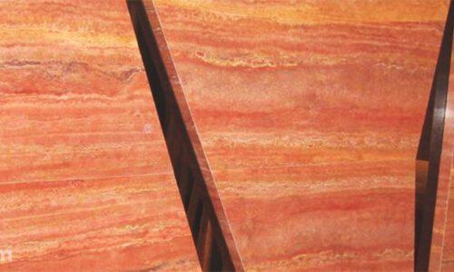 انواع سنگ تراورتن قرمز