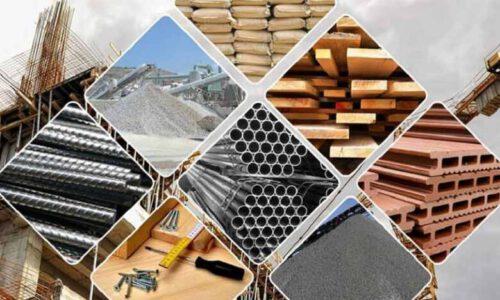اصول انتخاب مواد اولیه ساختمانی